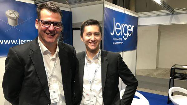 Jerger at the Fastener Fair Italy
